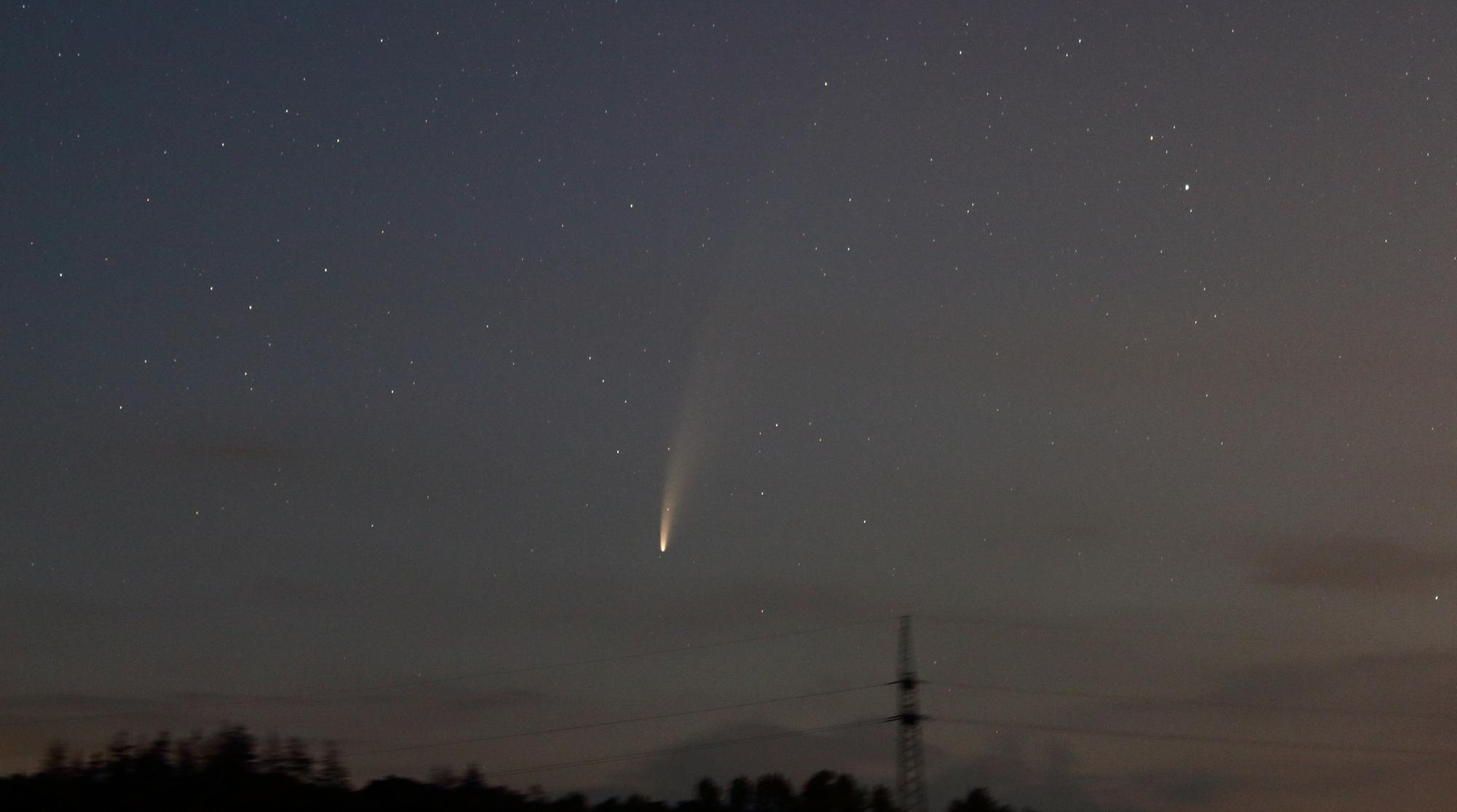 Komet NEOWISE eine Augenweide